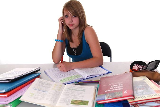 Ohne Schulbücher lernt es sich nur schwer und daher dürfen die Bücher im Ranzen natürlich nicht fehlen. Eltern erhalten in der Regel durch die Schule einen Zettel, auf dem die Bücher vermerkt sind, die bestellt werden müssen. (#02)