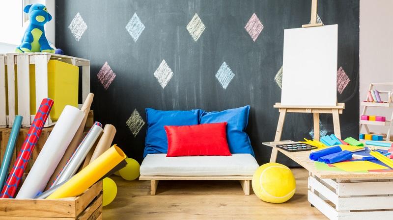 Nicht nur tolle Ideen mit Möbeln, die bereits anderweitig in Gebrauch waren, lassen sich im Rahmen von DIY im Kinderzimmer umsetzen.