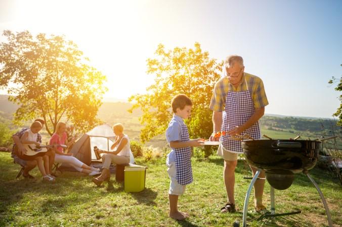 Beim Camping kann jeder individuell sein Essen planen - kein Anstehen und Warten, einfach genießen! (#3)