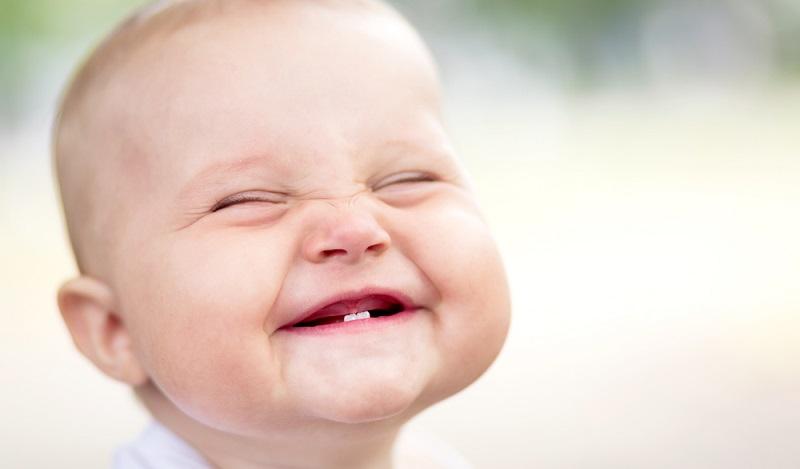 Die schönste Belohnung für Eltern ist eine lustige Grimasse des Babys. (#1)