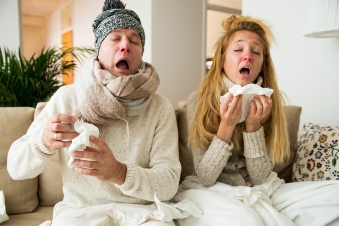 Ist ein Familienmitglied an der Grippe erkrankt, gilt es für den Rest der Familie eine Ansteckung möglicht zu vermeiden. Wenn die gesamte Familie flach liegt, liegen die Nerven schnell blank. (#3)