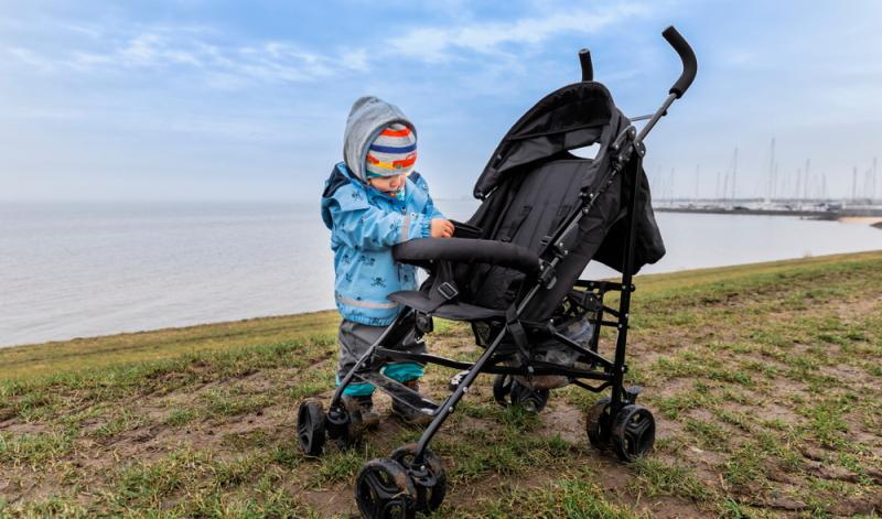 Kinderwagen im Test: die Handhabung spielt im Test eine Rolle.