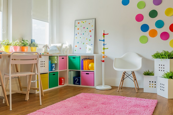Bei den aktuellen Kinderzimmer Trends geht es vor allem darum, den Platz so effektiv es geht zu nutzen und den Kindern die Freiräume zu geben, in ihrem Zimmer immer neue Welten ins Leben rufen zu können. (#05)