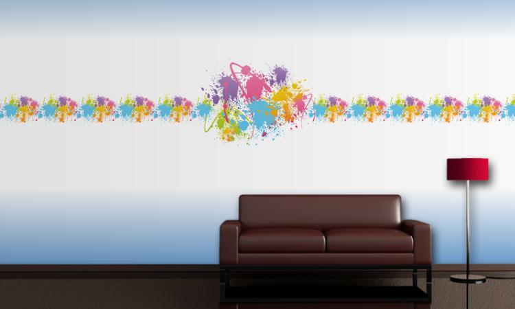 Kinderzimmer Wandgestaltung klassisch. Mit dieser Tapete muss man nicht sooft Umgestalltung