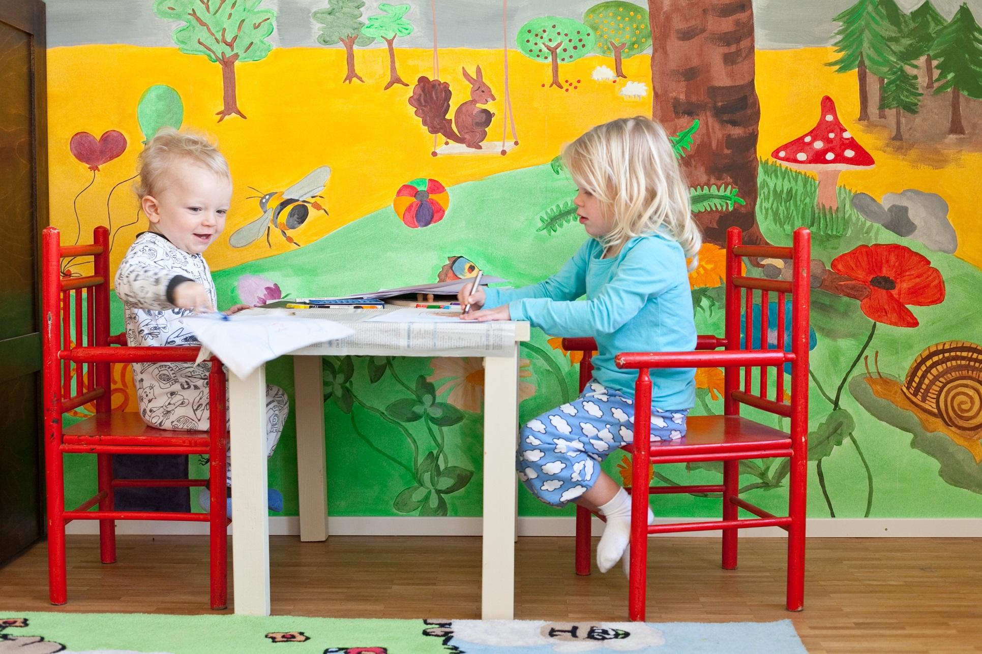 Kinderzimmer Wandgestaltung: die schönsten Ideen!
