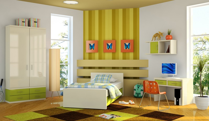 Das Kinderzimmer hat im Leben der Menschen eine sehr wichtige Bedeutung. Hier verbringen sie in den ersten Lebensjahren einen erheblichen Teil ihrer Zeit.