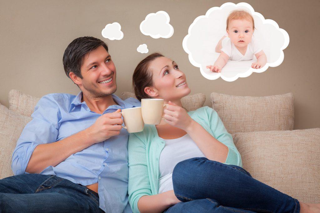 Der gemeinsame Traum vom süssen Baby