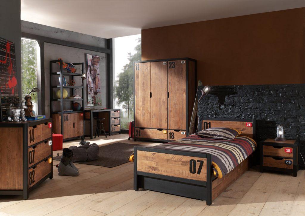 Ins Jugendzimmer gehören nicht nur das passende Bett und der Kleiderschrank, sondern es müssen auch Truhen oder Kommoden vorhanden sein. (#02)