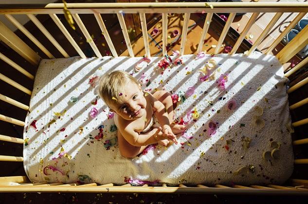 Die Anatomie eines Babys unterscheidet sich in den ersten Jahren noch erheblich von der eines Erwachsenen. (#01)