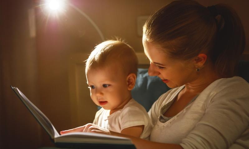 Für einen gesunden Schlafrhythmus benötigt das Baby Rituale.
