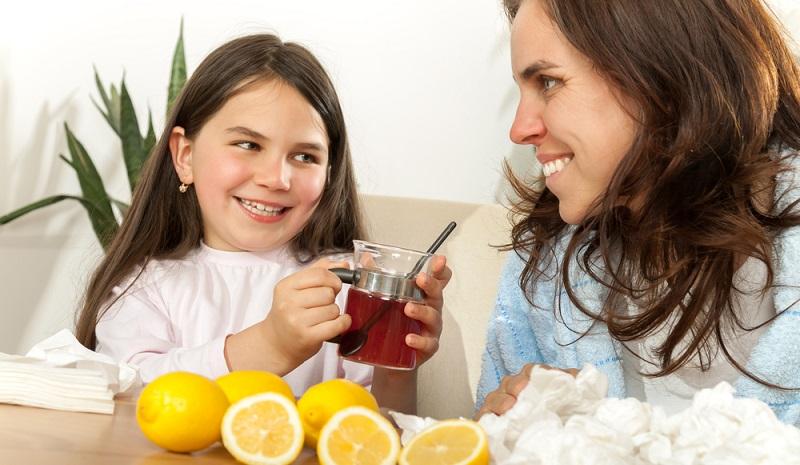 Tee eignet sich bei jeder Art von typischen Kinderkrankheiten. (#04)