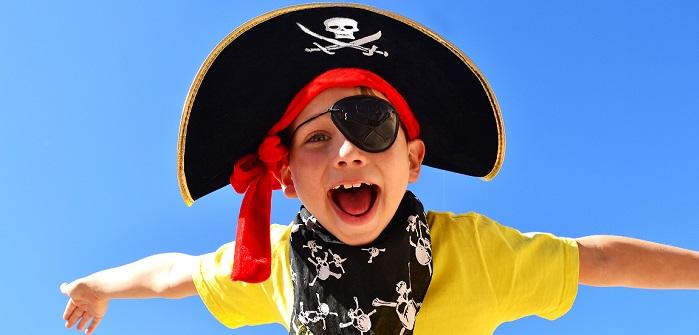 Kindergeburtstag Mottopartys der Hit. Wie wäre es mit Piratenparty?