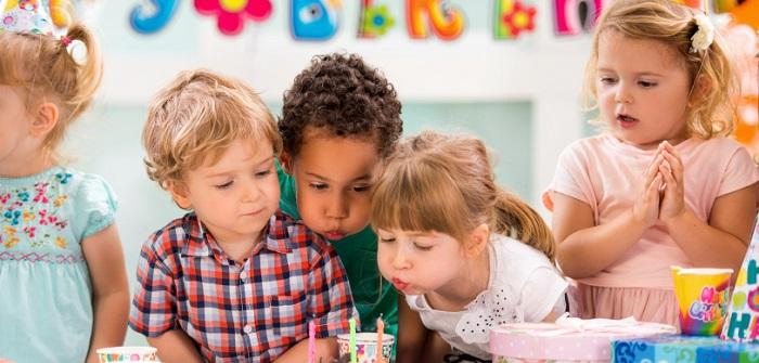 Geburtstag feiern mit kleinen Kindern